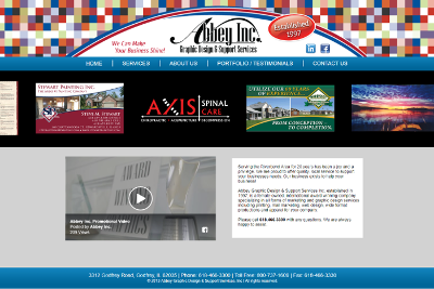 Abbey Graphic Design & Support Home Page