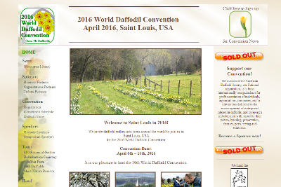 2016 World Daffodil Convention Home Page