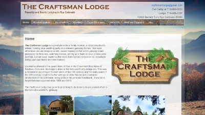 The Craftsman Lodge Home Page