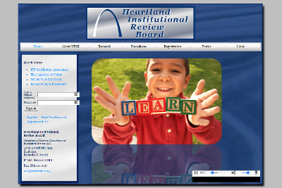 Heartland Institutional Review Board Home page