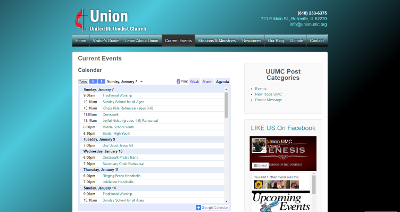 Union UMC Current Events Page