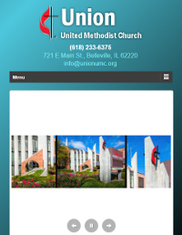Union UMC Responsive Home Page