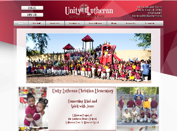 Unity Lutheran Christian Elementary School Home Page